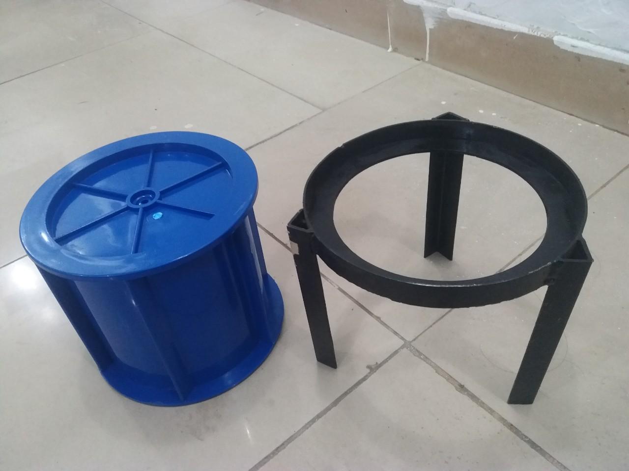 Dụng cụ lấy mẫu bê tông bằng nhựa thử thấm